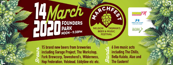 Be In To Win One Of Two Double Passes To Marchfest 2020!