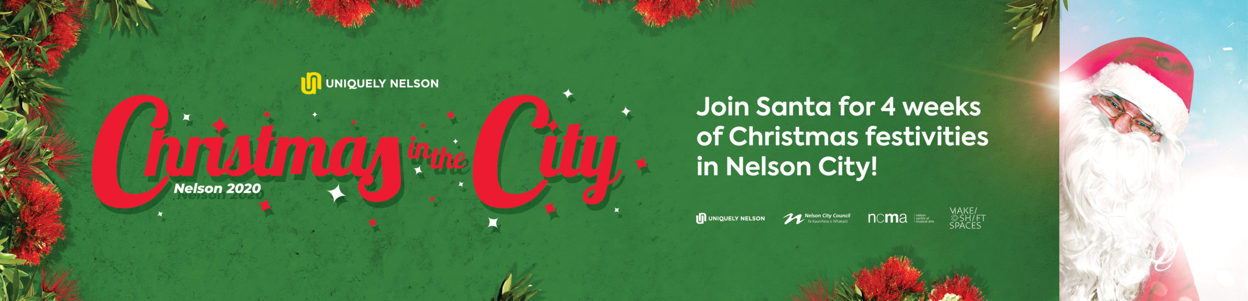 4 week Christmas Festive at the beautiful city, Nelson with Christmas in the city