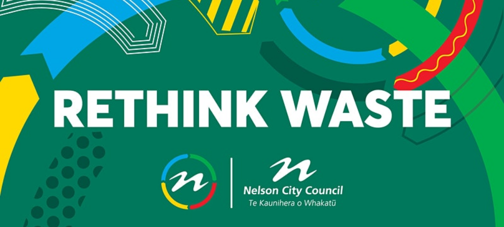 Rethink/Reduce/Reuse by Nelson City Council for Clean Environment