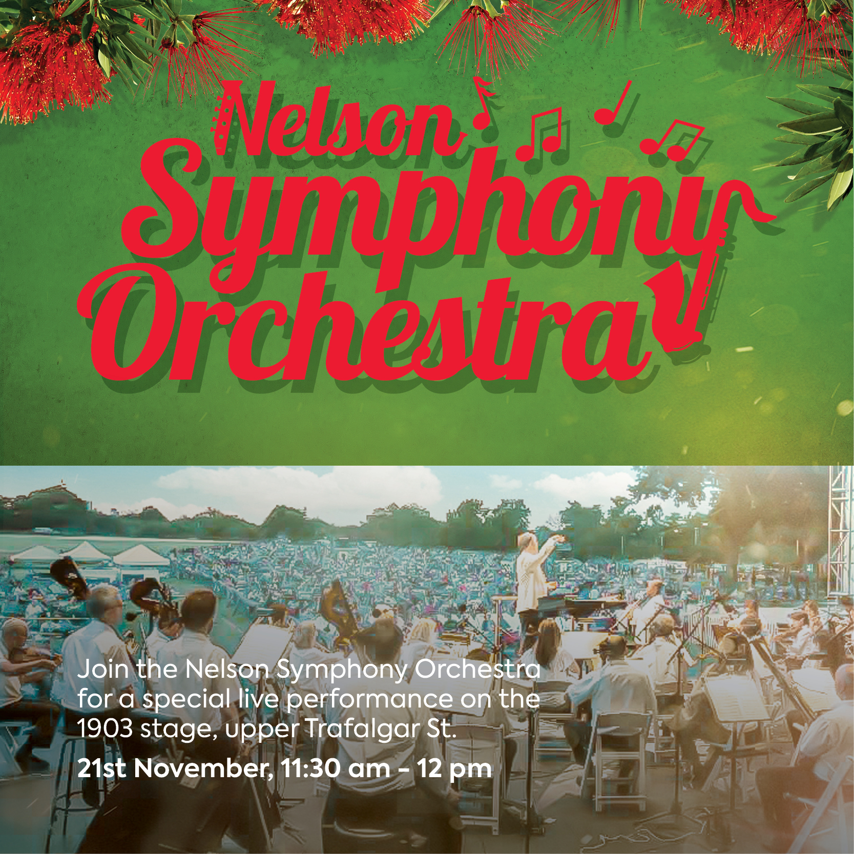 Nelson Symphony Orchestra | Nelson City Christmas Celebration | Christmas in Nelson