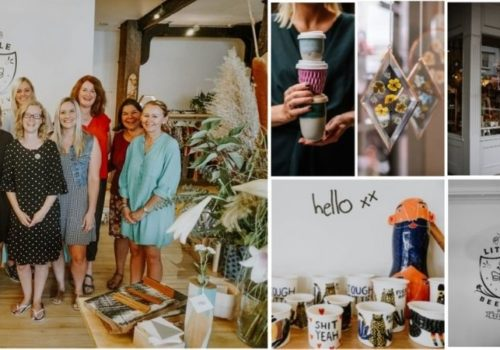 Handmade Products Amongst A Selection Of Other NZ Made Items By Little Beehive Co-op
