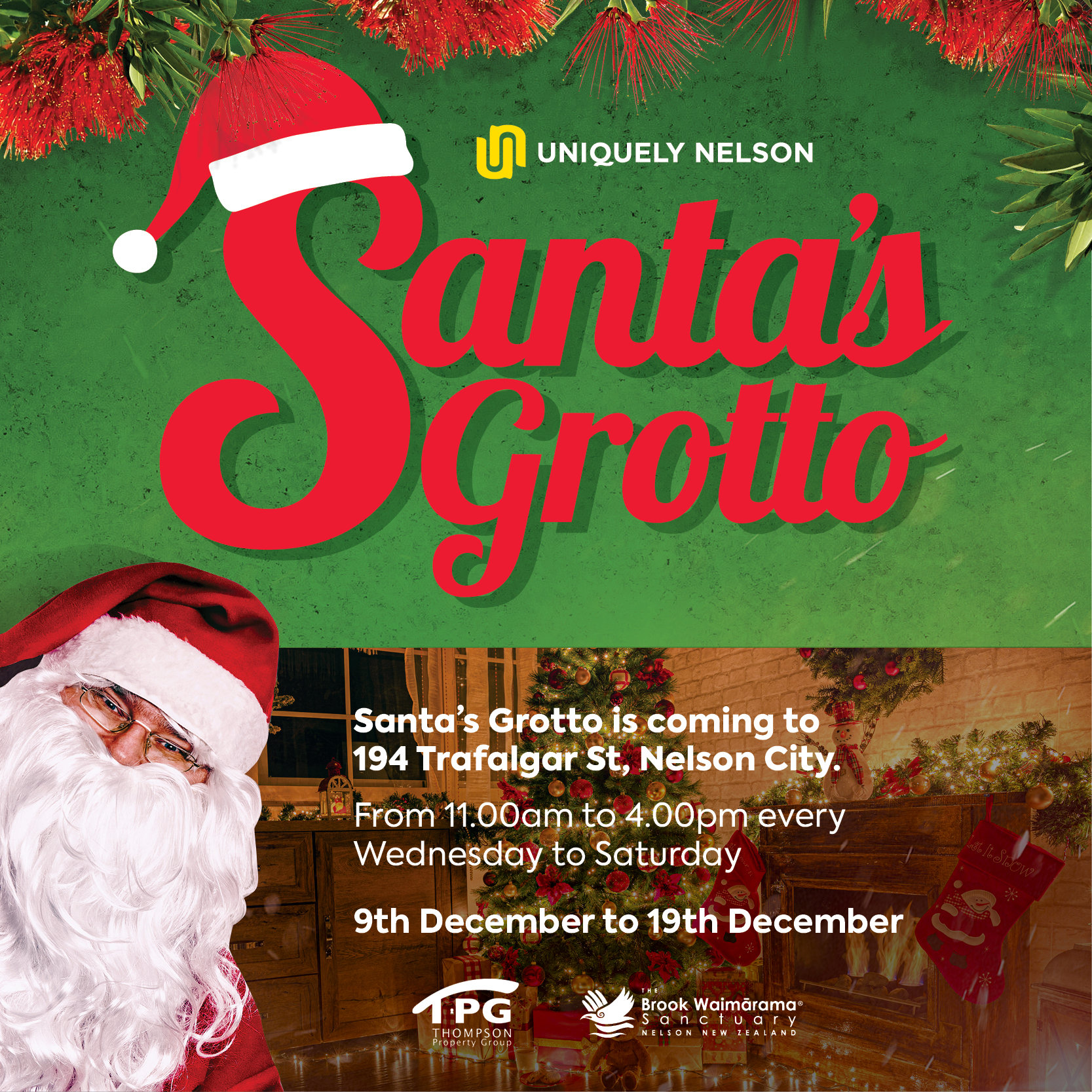 Santa Grotto - Nelson City 2020 Christmas