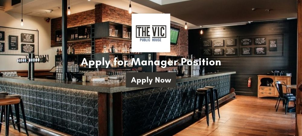 The VIC Brewbar - Duty Manager of a recently re-branded, re-fitted, busy inner city pub. Working with a great team for accommodating employers. Great staff benefits package including free gym access | Nelson Tasman |Uniquely Nelson