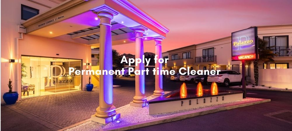 Job Vacancy At Palazzo For Cleaner