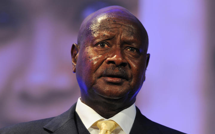 Yoweri Museveni: the West has tried to impose its social values.