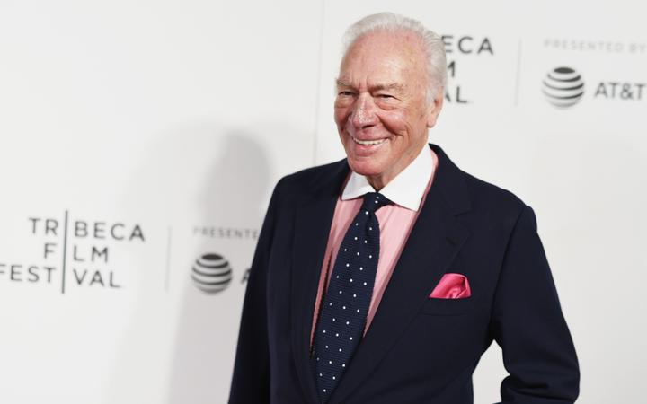 """NEW YORK, NY - APRIL 26: Actor Christopher Plummer attends as AT&T presents the U.S. premiere of """"The Exception"""" at the BMCC Tribeca Performing Arts Center on on April 26, 2017 in New York City."""