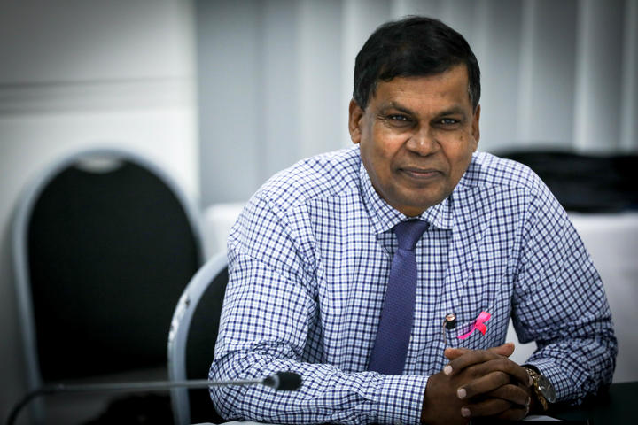 Leader of the National Federation Party Biman Prasad